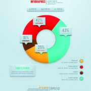 Link toBusiness infographic creative design 384