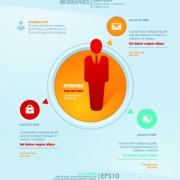 Link toBusiness infographic creative design 385