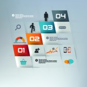 Link toBusiness infographic creative design 391