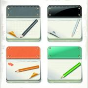 Link toCardboard cards vector 01