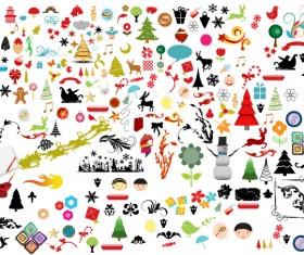 Christmas adornment vector design 02