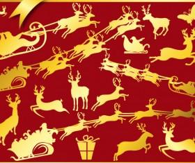 Christmas adornment vector design 06
