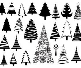 Christmas adornment vector design 07