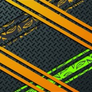 Colored layered vector background 04