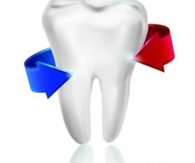 Amusing Dental design elements vector 04