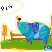 Link toDraw pig vector