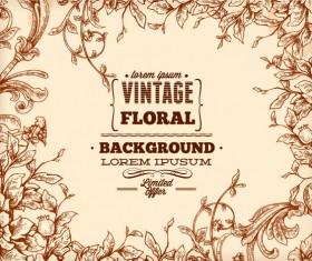 Elegant Vintage background set 02