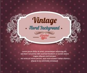 Elegant Vintage background set 03