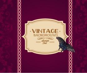 Elegant Vintage background set 08