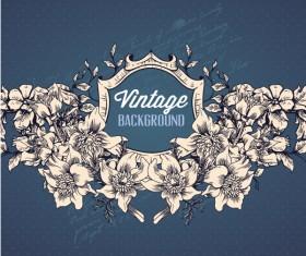 Elegant Vintage background set 09