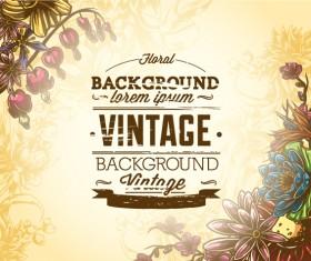 Elegant Vintage background set 11