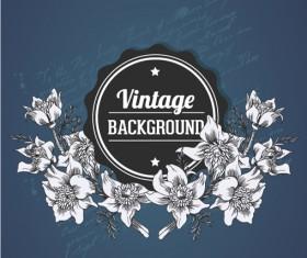Elegant Vintage background set 12