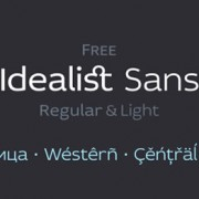 Link toFree idealist font