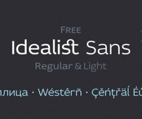 Free Idealist font