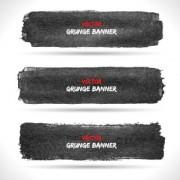 Link toVector set of grunge banner 05