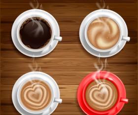 Hot coffee Vector 01