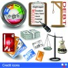 Modern Icons objects vector set 05