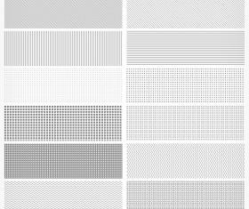 Light color patterns psd