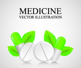 Medicine vector background Illustration 01