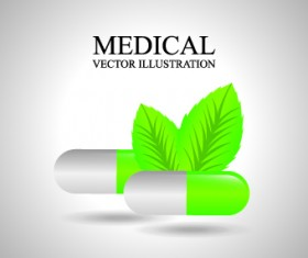 Medicine vector background Illustration 03
