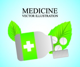 Medicine vector background Illustration 05