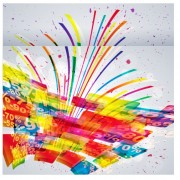 Link toShiny multicolor background vector 04
