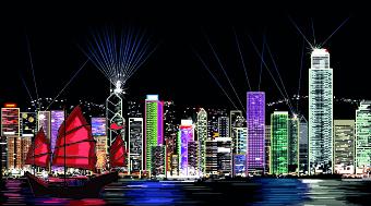 Draw Nightlife city design vector 04
