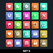 Link toPaper cut icons vector set 03