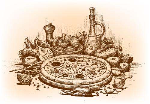 Risultati immagini per pizza vintage
