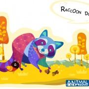 Link toRaccoon dog vector