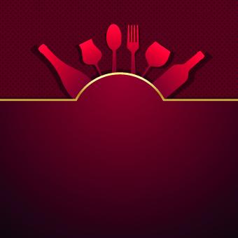 Vector Restaurant menu cover design 04 - Vector Cover free ...