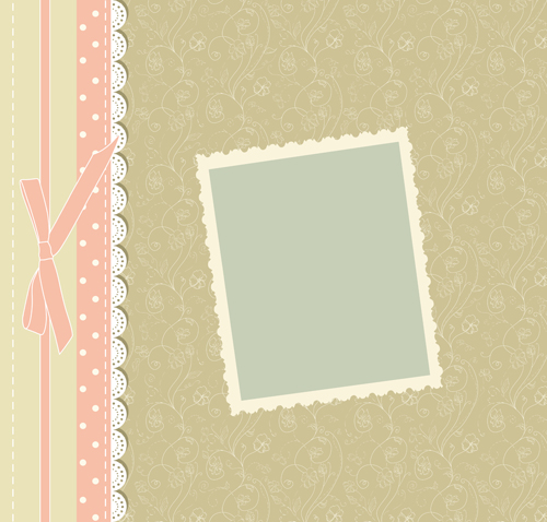 baby frame backgrounds vector 02 free download