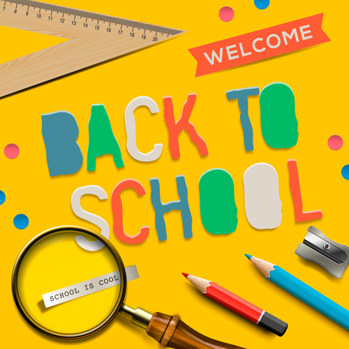 School supplies creative background 06 over millions vectors school supplies creative background 06 toneelgroepblik Images
