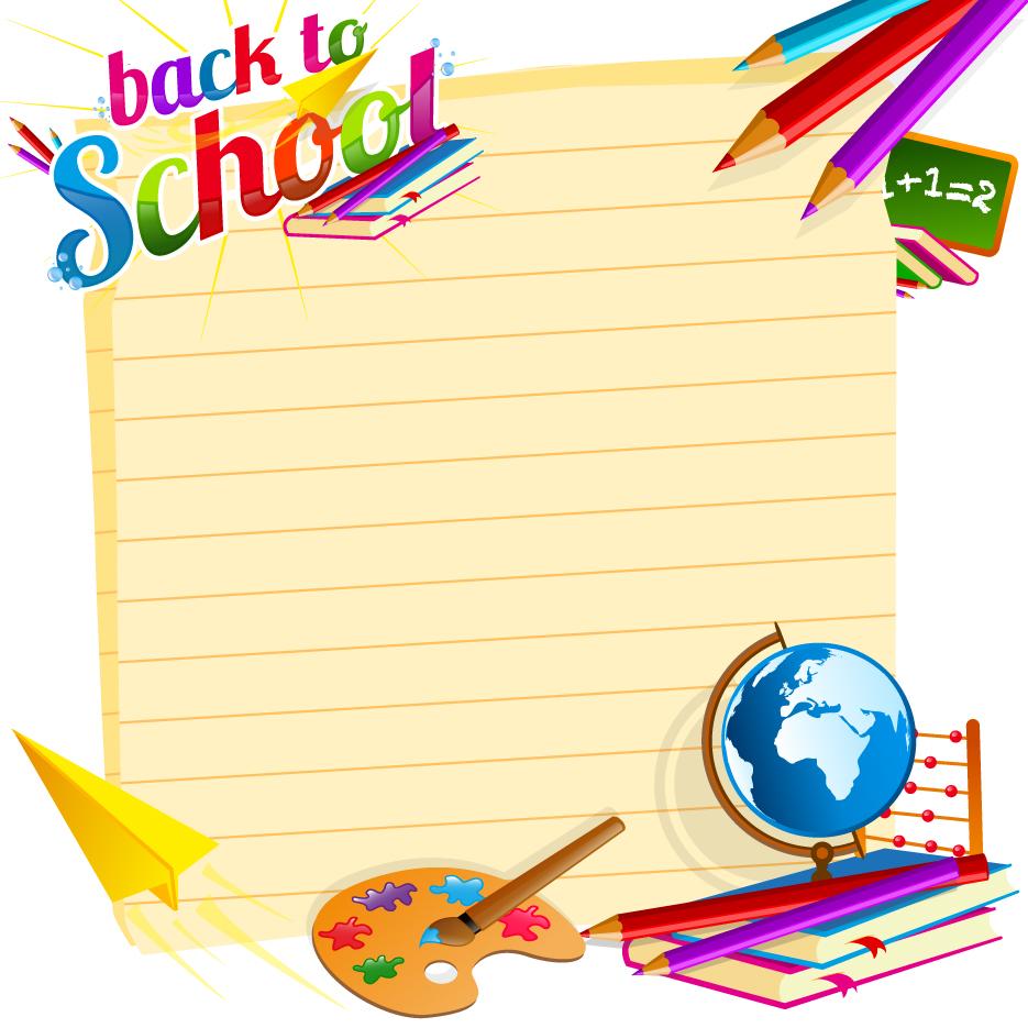 School backgrounds set 19