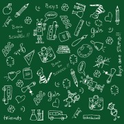 Link toSchool drawn creative vector 02