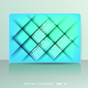 Link toShiny colored card design vector 03