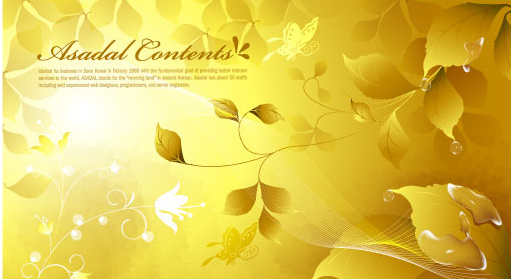 Color Notes Background 01 Vector Free Download: Snail With Golden Background Vector 01 Free Download