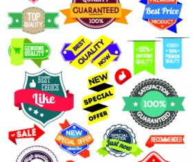 Sale Sticker labels and tags vector 04