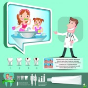 Link toCreative teeth care infographics vectors 02