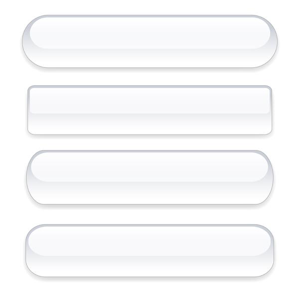 Transparent Buttons Vectors - Vector Web design free download