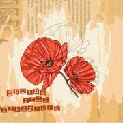 Link toVector floral background art set 01