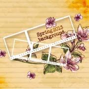 Link toVector floral background art set 02
