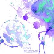 Link toWatercolor art background vector 05