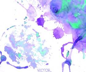 Watercolor art background vector 05