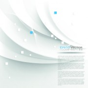 Link toWhite 3d shapes background vector 02