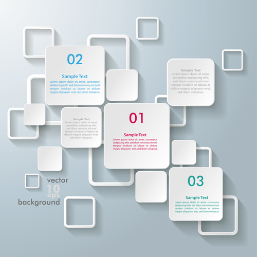 White text boxes backgrounds vector 03 vector background for Text table design
