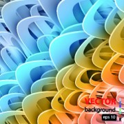 Link toAbstract color bar background vector 01