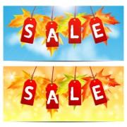 Link toCreative autumn sale design vector 02