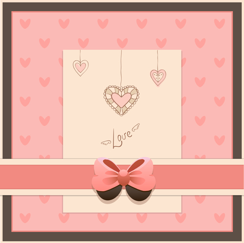 Baby Photo Background Vector Set 04 Over Millions