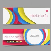 Link toStylish elements banners vector 01